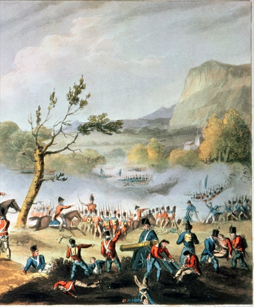 Detail of Battle of Maida by William Heath