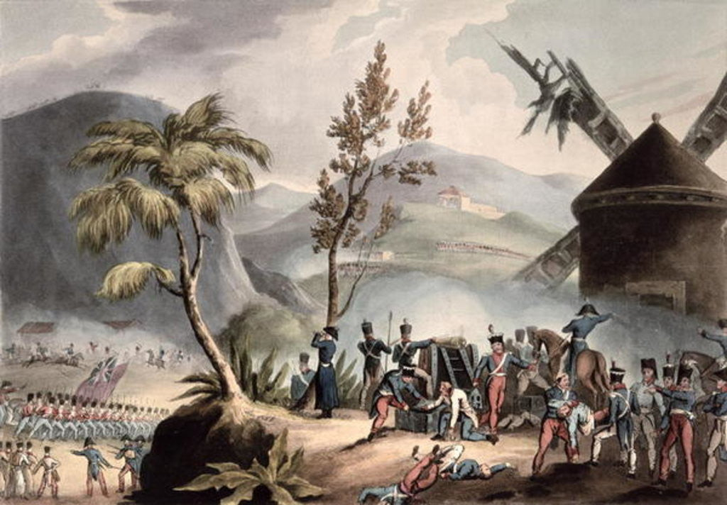 Detail of Battle of Roleia by William Heath