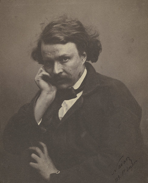 Detail of Self portrait by Nadar