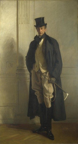 Detail of Lord Ribblesdale by John Singer Sargent
