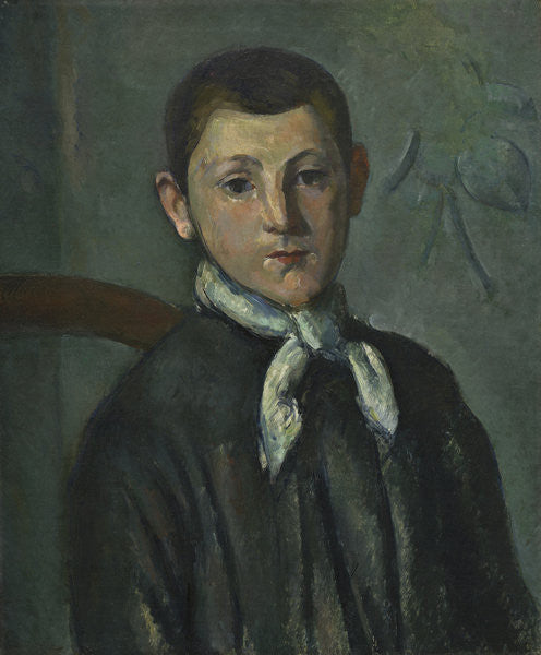 Detail of Louis Guillaume by Paul Cezanne
