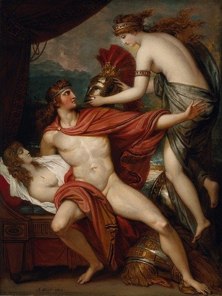 Thetis Bringing the Armor to Achilles