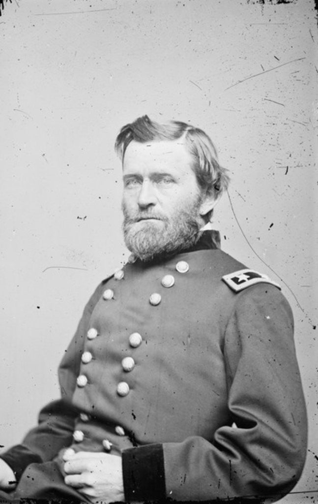 Detail of Maj. Gen. Ulysses S. Grant by American Photographer