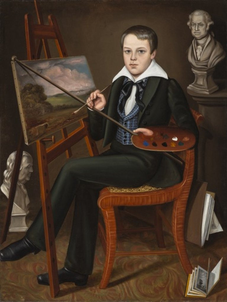 Detail of The Young Artist, c.1838-39 by Randall Palmer