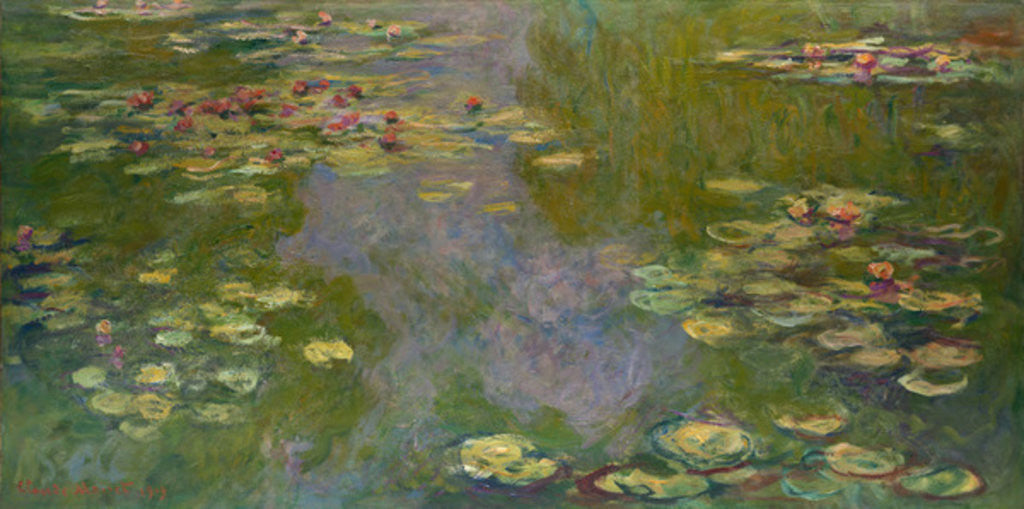 Detail of Water Lilies, 1919 by Claude Monet