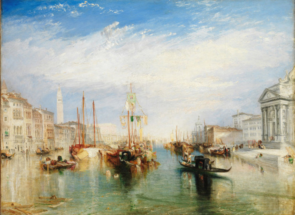 Detail of Venice by Joseph Mallord William Turner