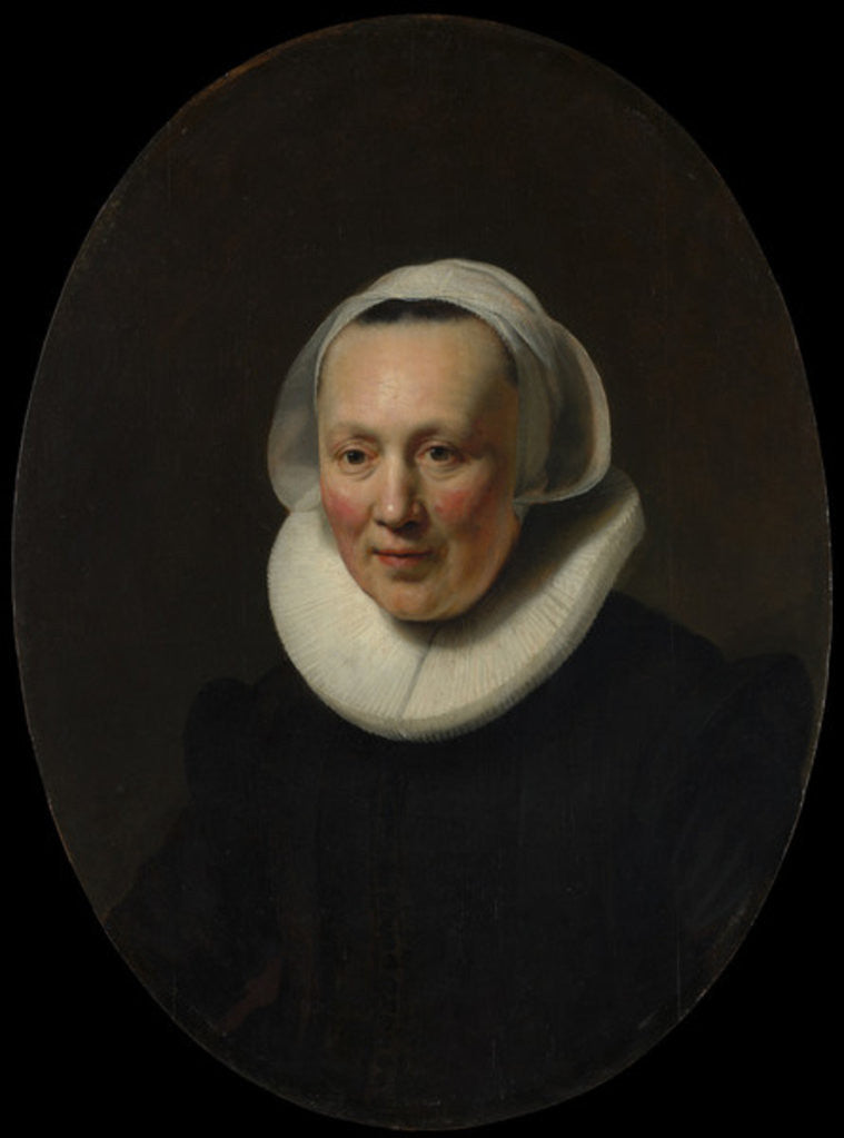 Portrait of a Woman, 1633 by Rembrandt Harmensz. van Rijn