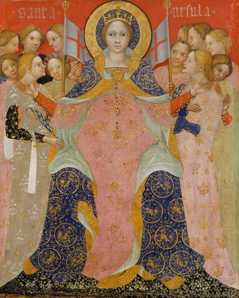 Saint Ursula and Her Maidens, c.1410 by Nicolo di Pietro
