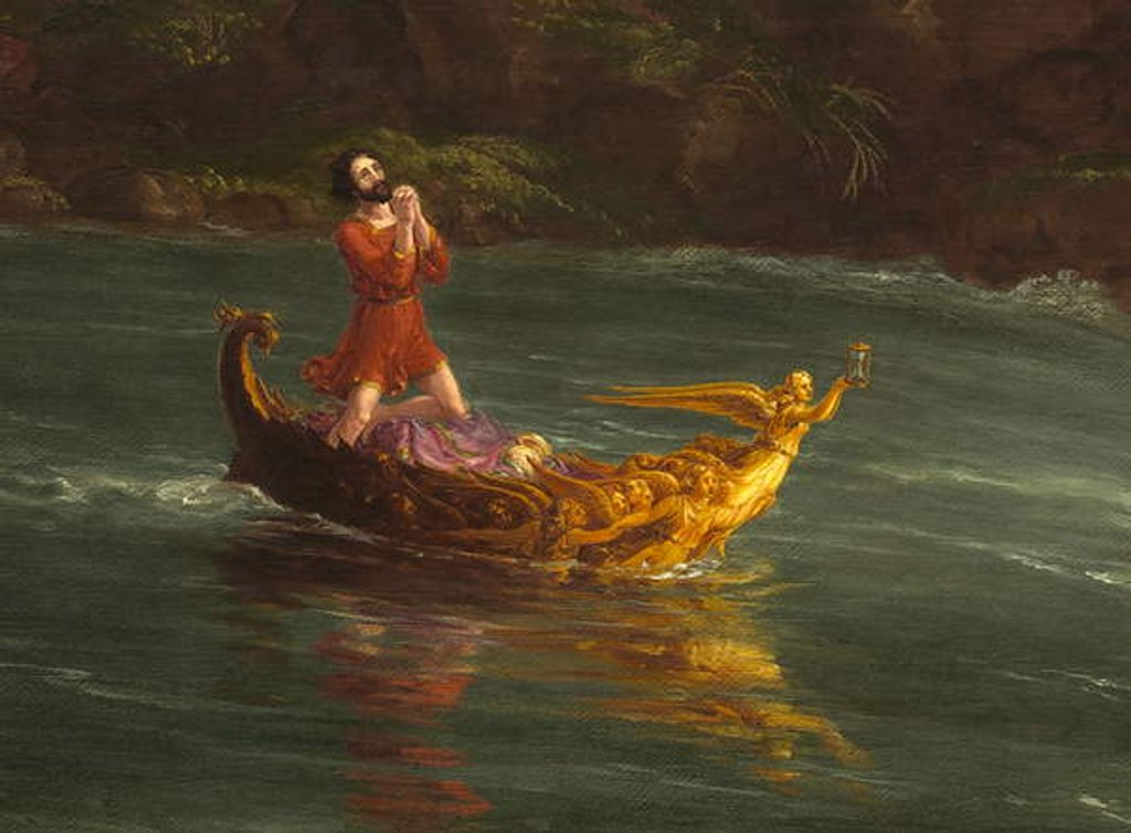 Detail of The Voyage of Life: Manhood 1842 by Thomas Cole