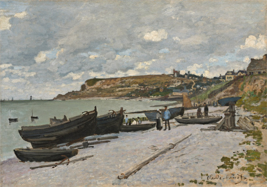 Sainte-Adresse by Claude Monet