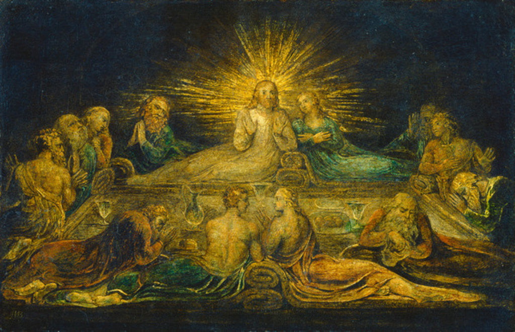 The Last Supper by William Blake