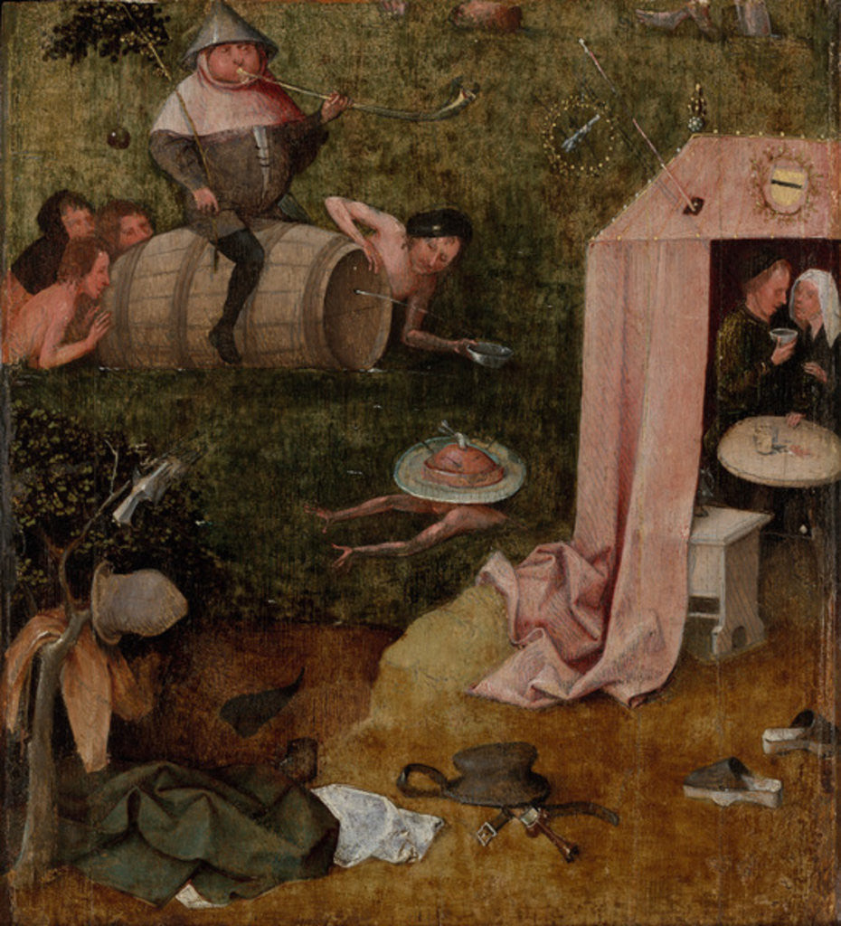 Detail of An Allegory of Intemperance by Hieronymus Bosch