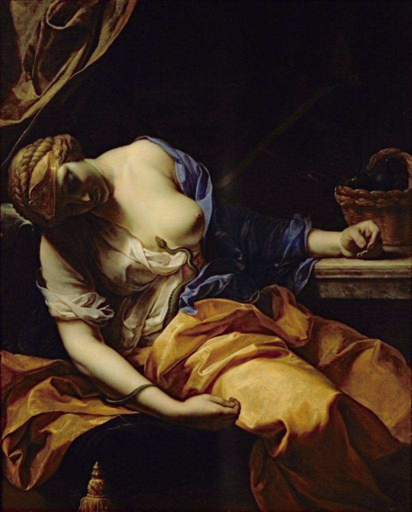 Detail of The death of Cleopatra by Antoine Rivalz