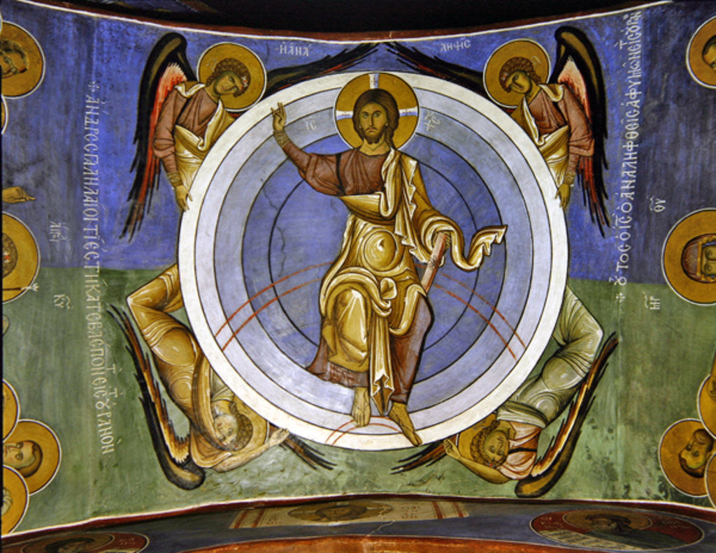 Detail of Christ of the Last Judgement by Byzantine School