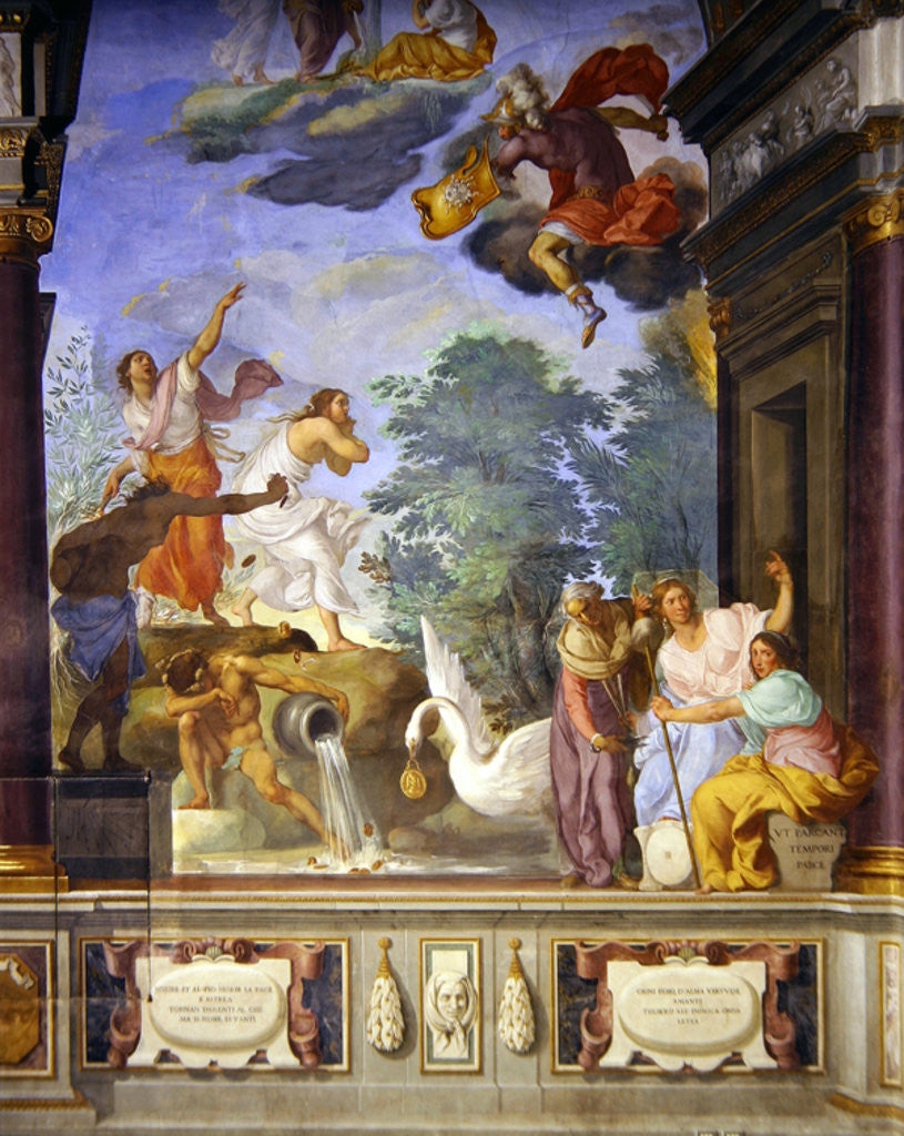 Allegory of the death of Lorenzo de Medici by Francesco Furini