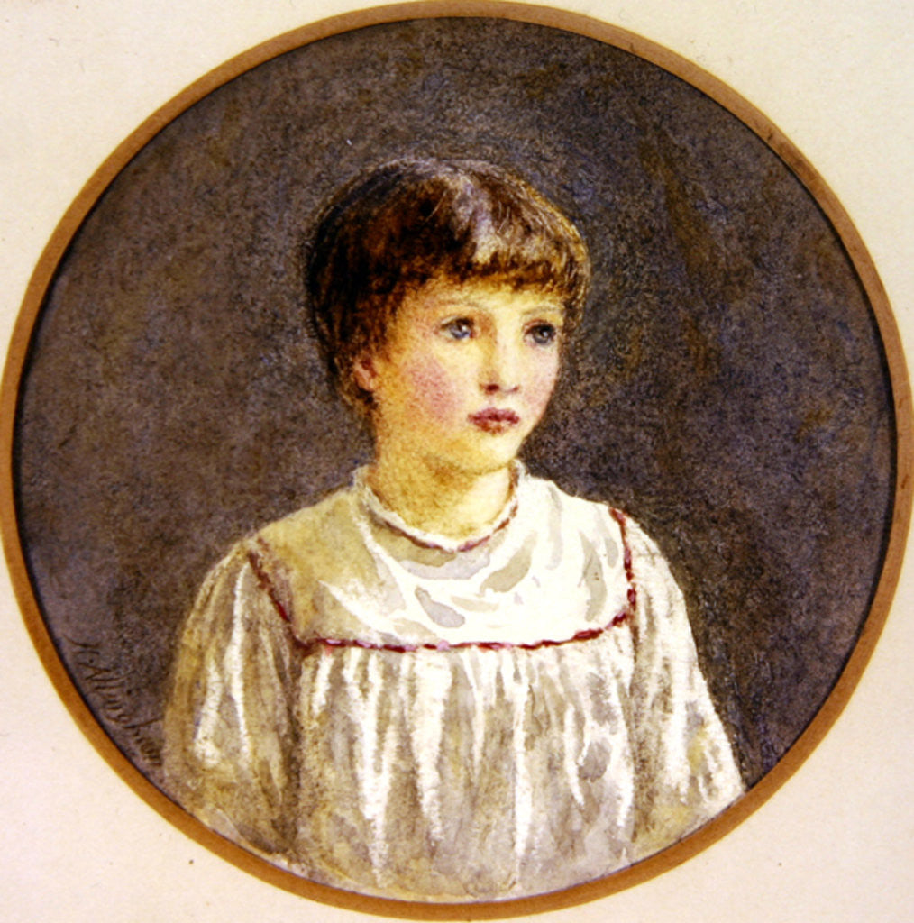 Detail of Alice by Helen Allingham