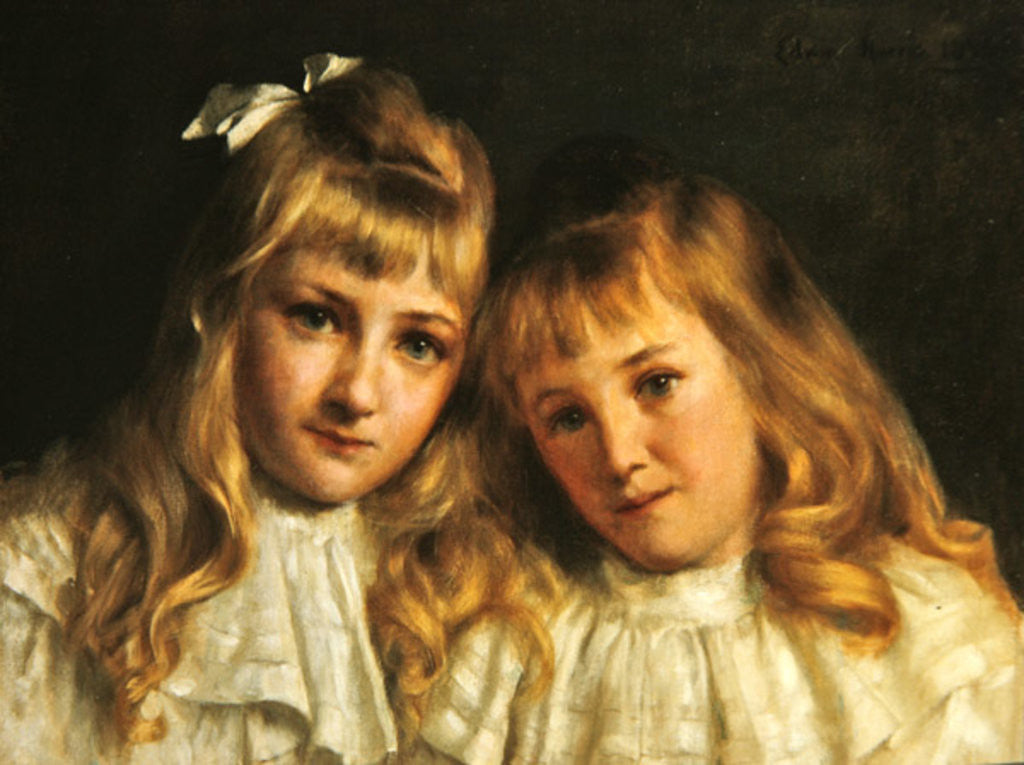 Detail of Sisters by Edwin Harris