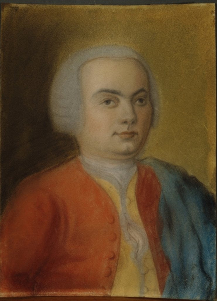 Detail of Carl Philipp Emanuel Bach by German School