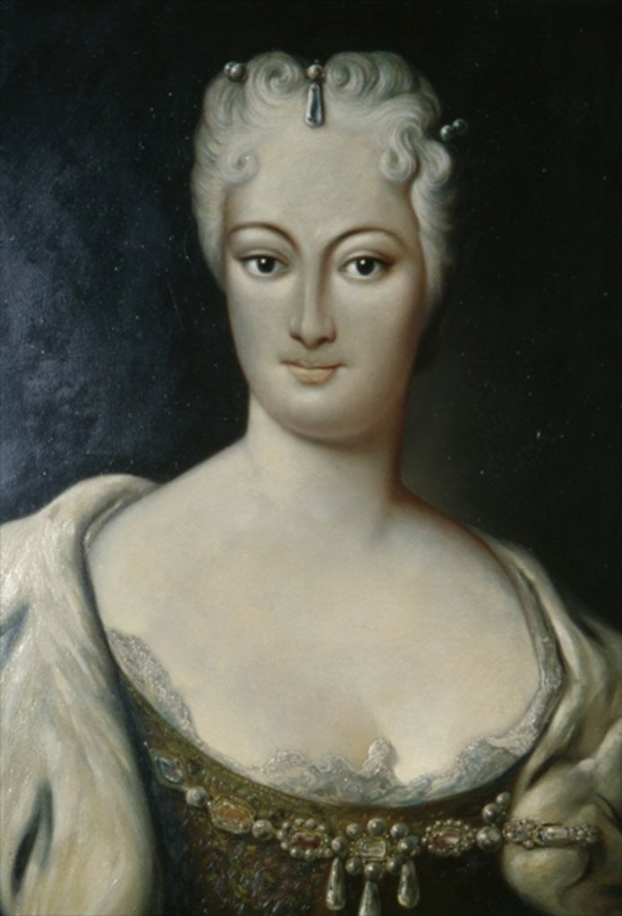 Detail of Countess Cosel by German School