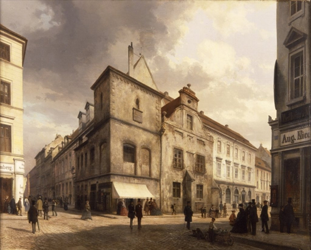 Detail of Old Berlin City Hall by Carl Georg Anton Graeb