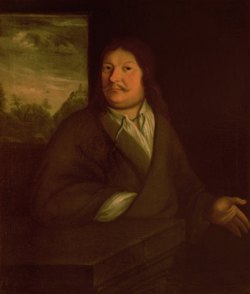 Detail of Portrait of Johann Ambrosius Bach by German School