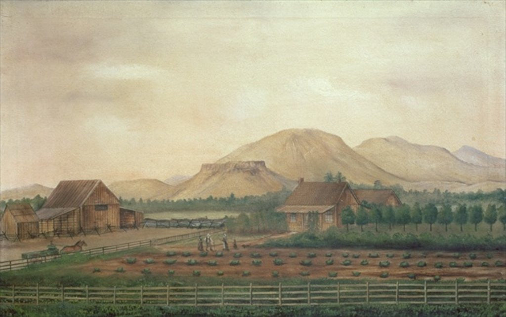Detail of Knox Ranch, Idaho by American School