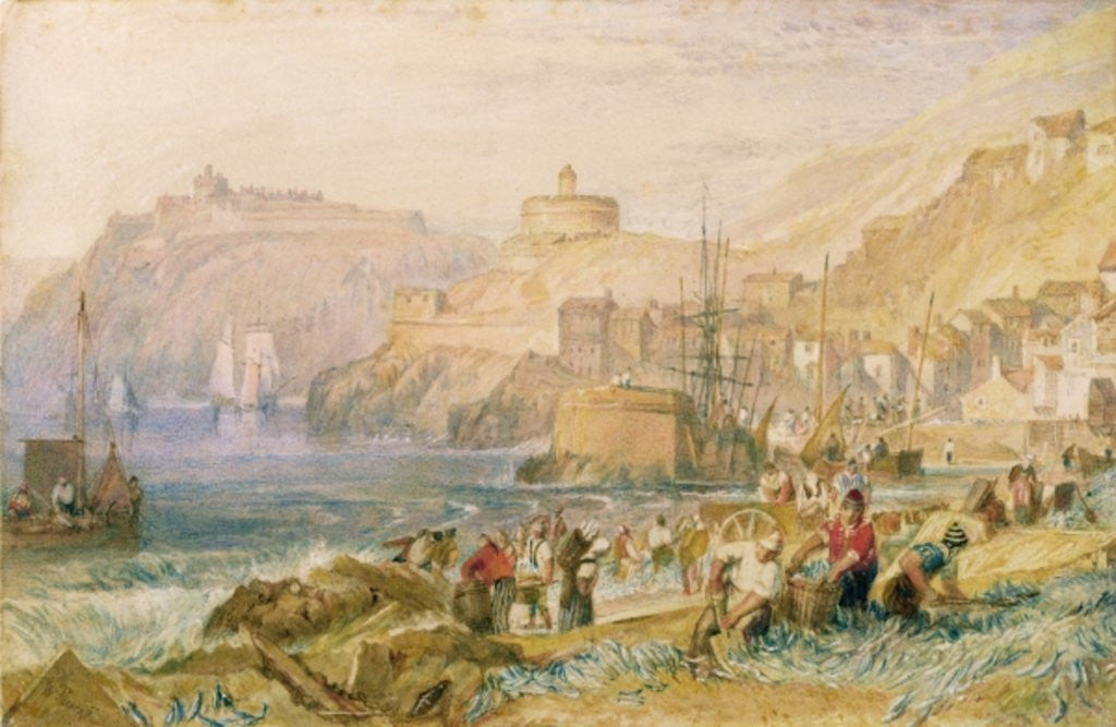 Detail of St. Mawes, Cornwall by Joseph Mallord William Turner