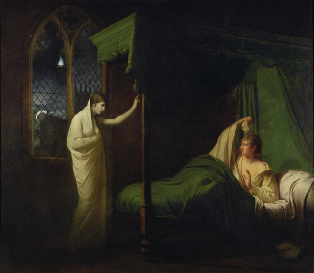 Detail of William and Margaret by Joseph Wright of Derby