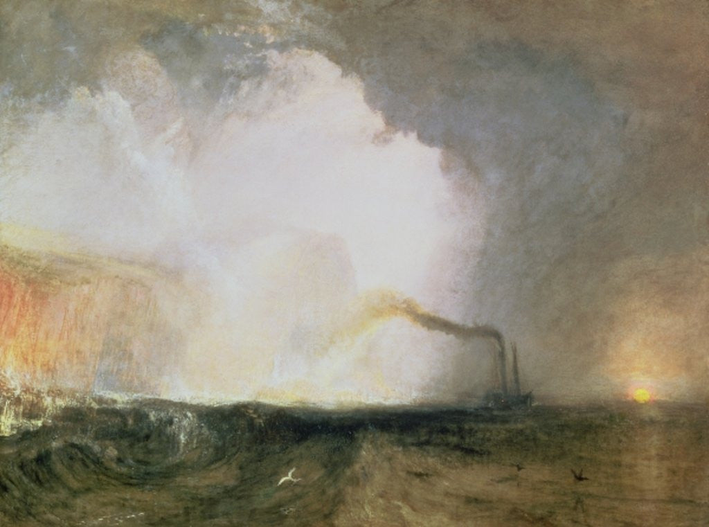 Detail of Staffa, Fingal's Cave by Joseph Mallord William Turner