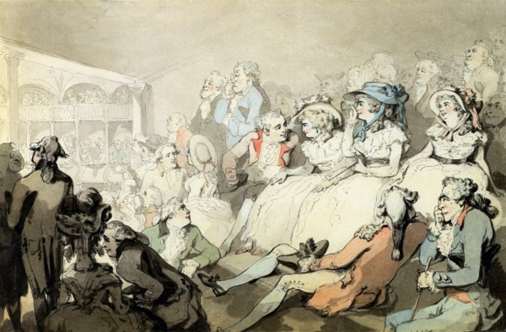 Detail of Shooting by Thomas Rowlandson
