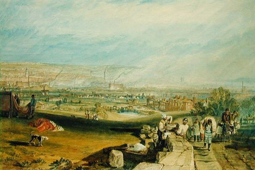Detail of Leeds by Joseph Mallord William Turner