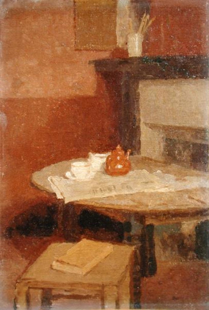 Detail of The Brown Tea Pot by Gwen John