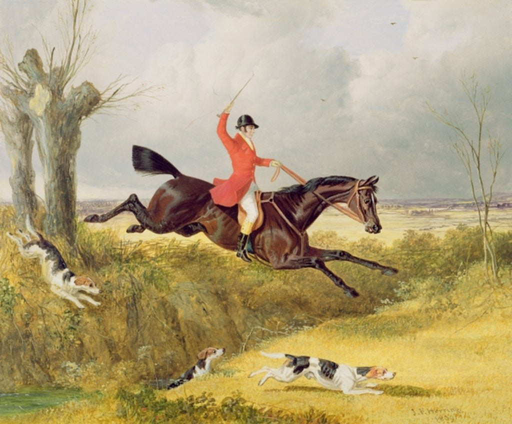 Detail of Clearing a Ditch by John Frederick Herring Snr