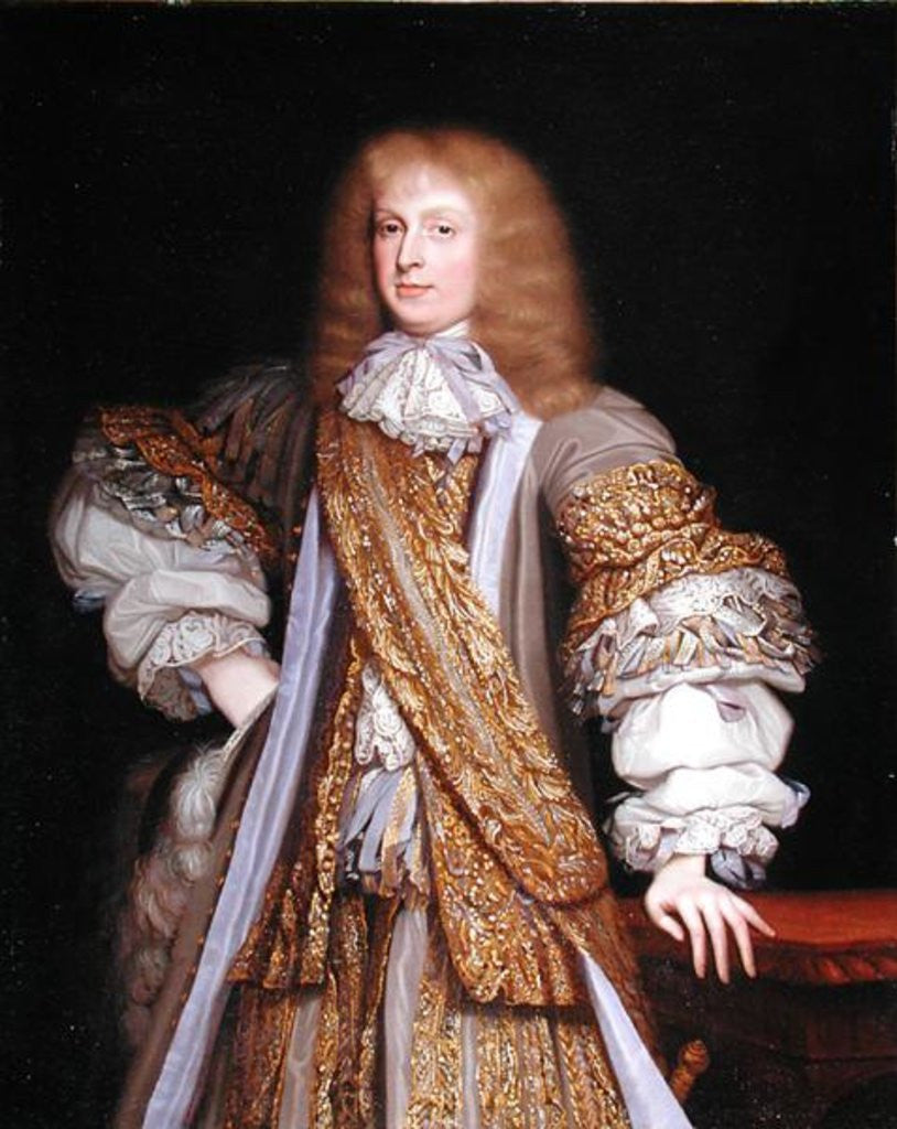 Detail of Sir John Corbet of Adderley by John Michael Wright
