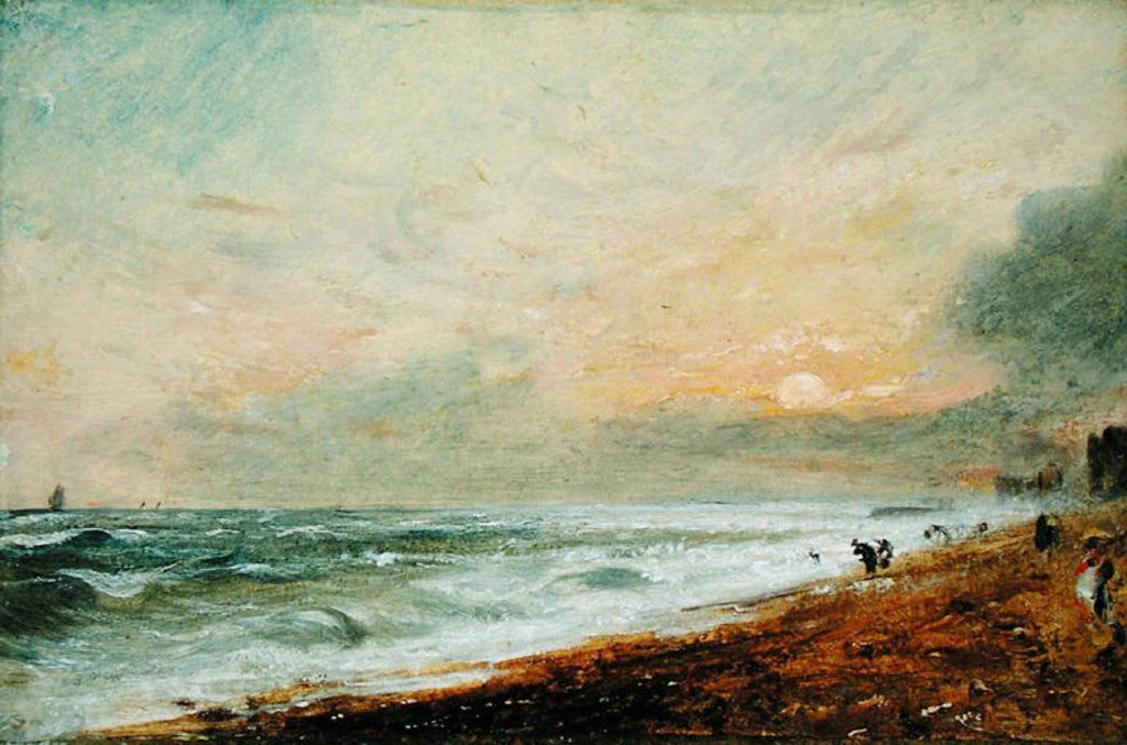 Detail of Hove Beach by John Constable