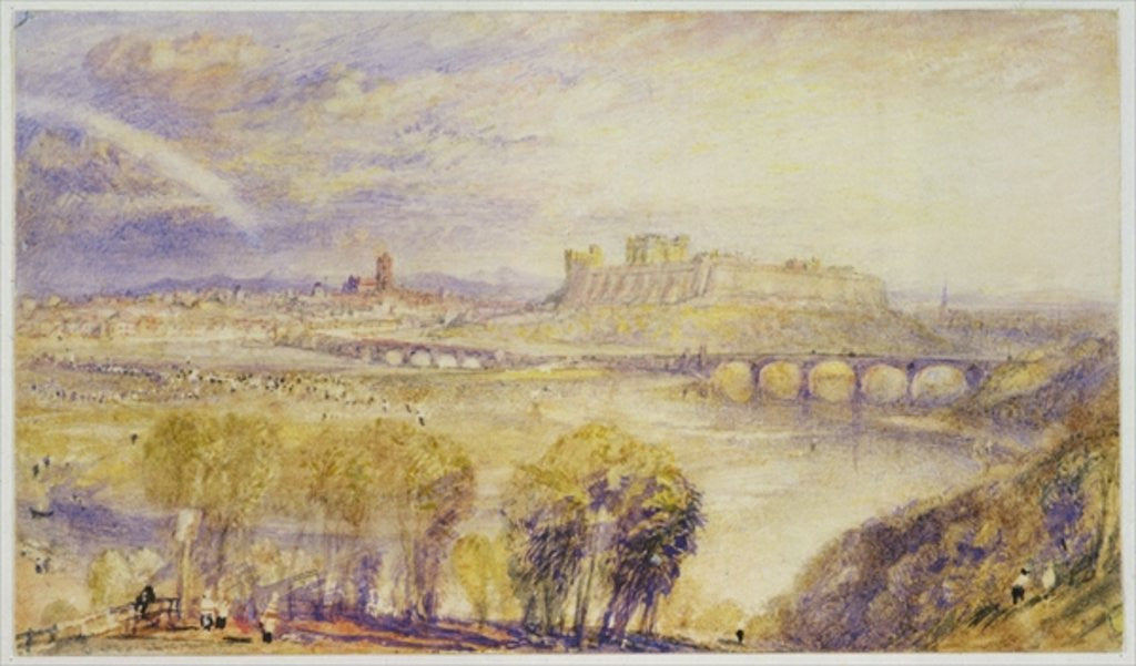 Detail of Carlisle by Joseph Mallord William Turner