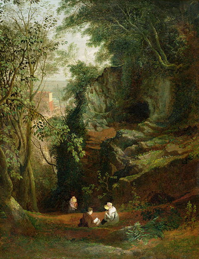 Detail of Landscape near Clifton by Francis Danby
