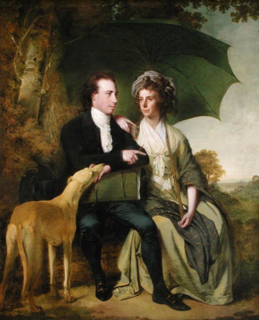 The Rev. and Mrs Thomas Gisborne, of Yoxhall Lodge, Leicestershire