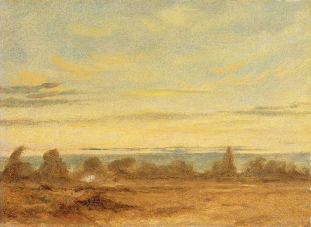 Detail of Summer - Evening Landscape by John Constable