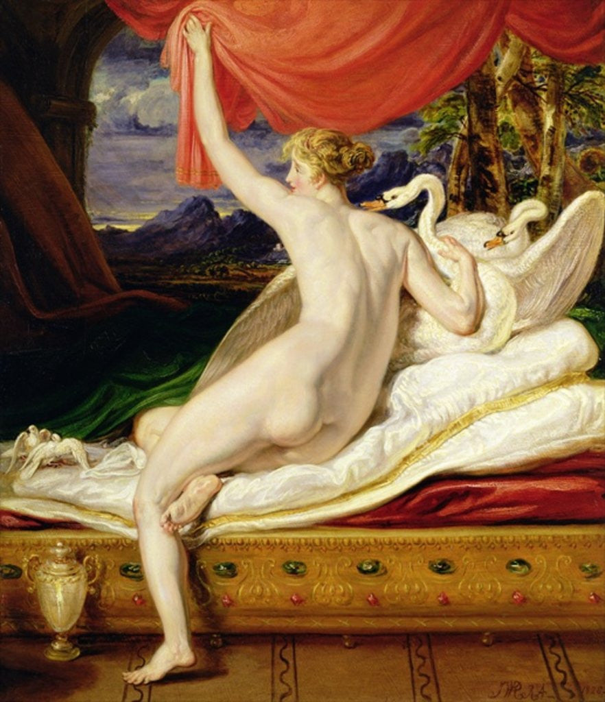 Detail of Venus Rising from her Couch by James Ward