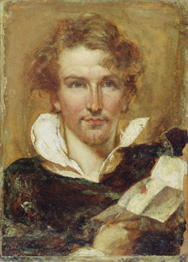 Detail of Self Portrait by William Etty