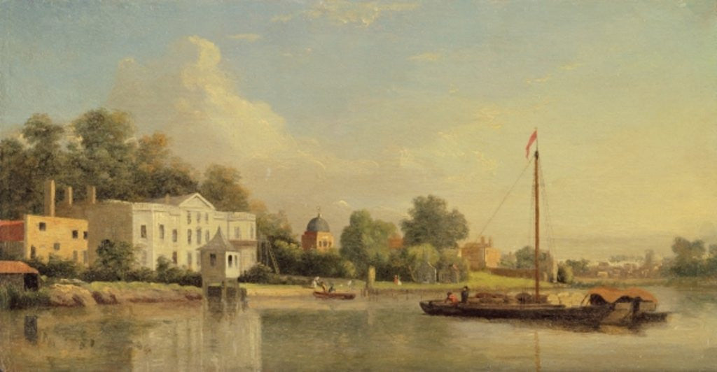 Detail of Harwich, The Low Lighthouse and Beacon Hill by Samuel Scott