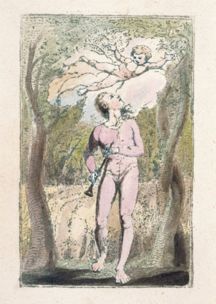 Detail of 'Innocence' by William Blake