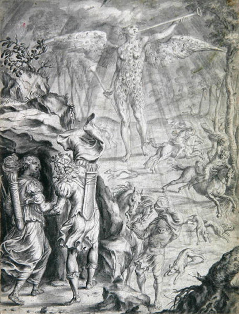 Detail of Frontispiece by Francis Cleyn