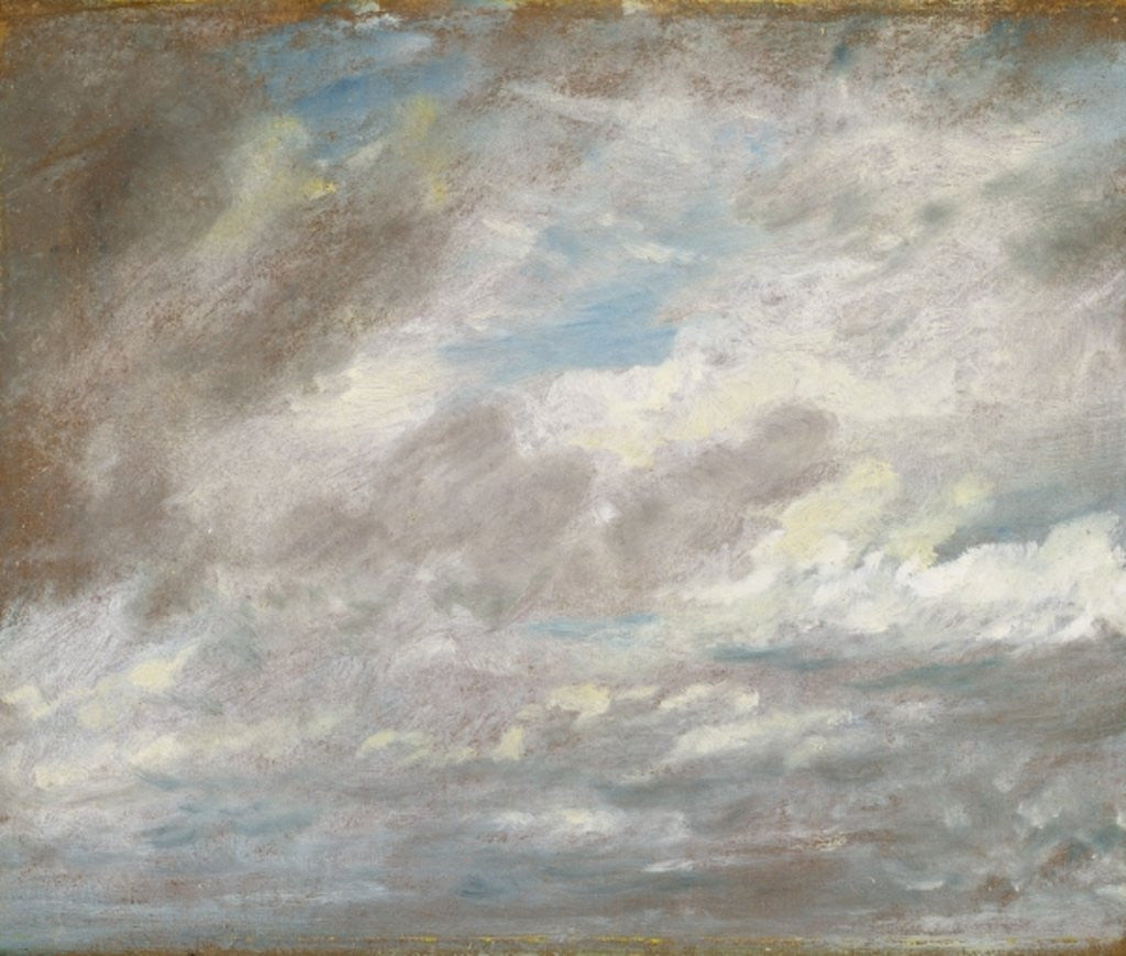 Detail of Cloud Study by John Constable