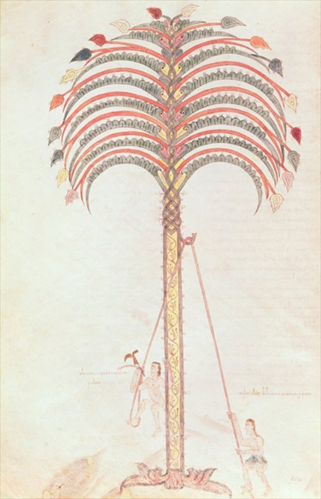 Detail of The Metaphor of the Palm Tree by Spanish School