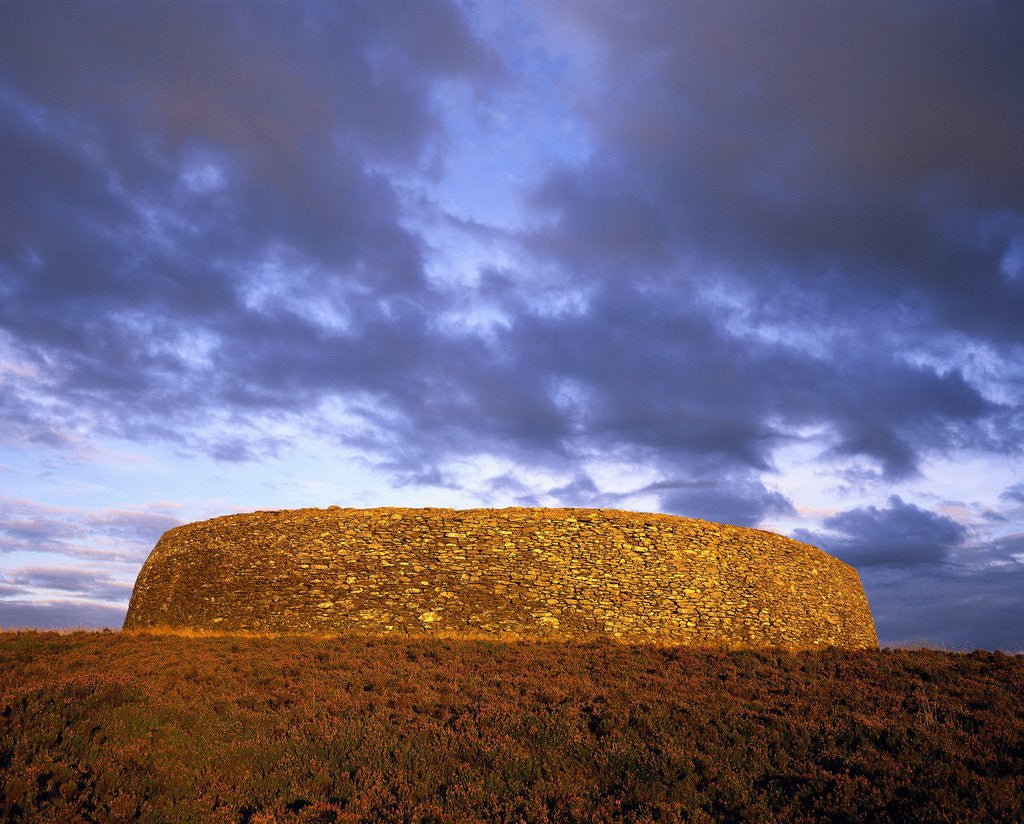 Detail of Grianan of Aileach by Corbis