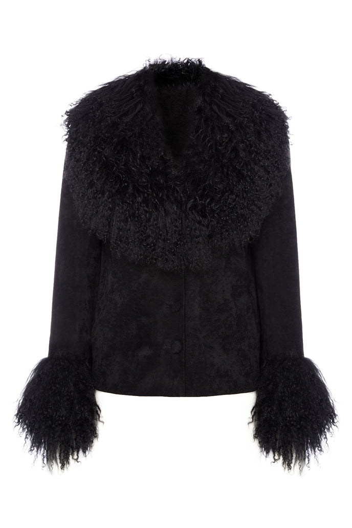 Petite Penny Jacket Black - Product Shot Front