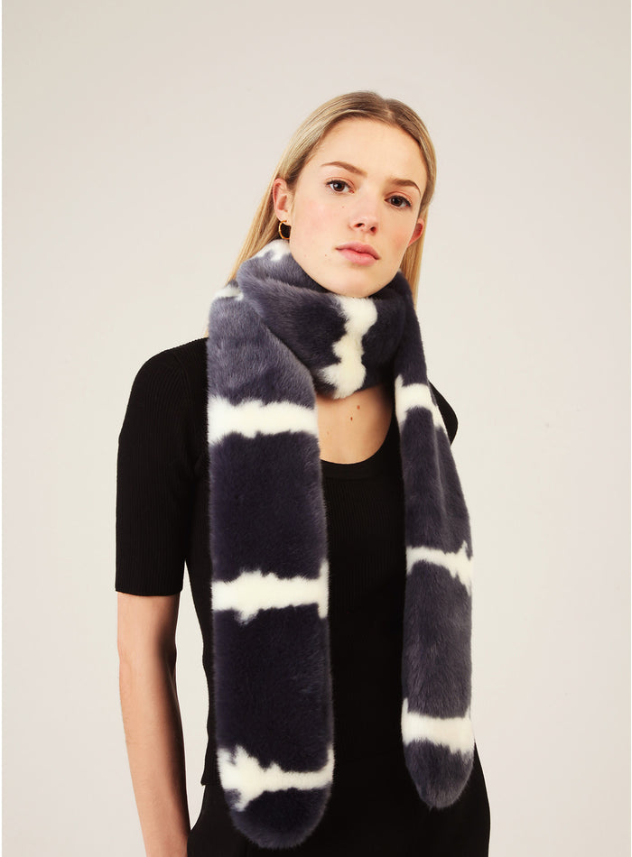 Alice Scarf- Dark Denim