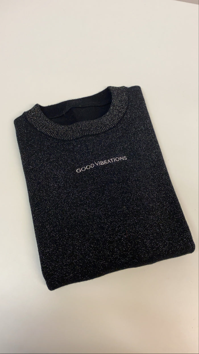 Good Vibrations Metallic Jumper